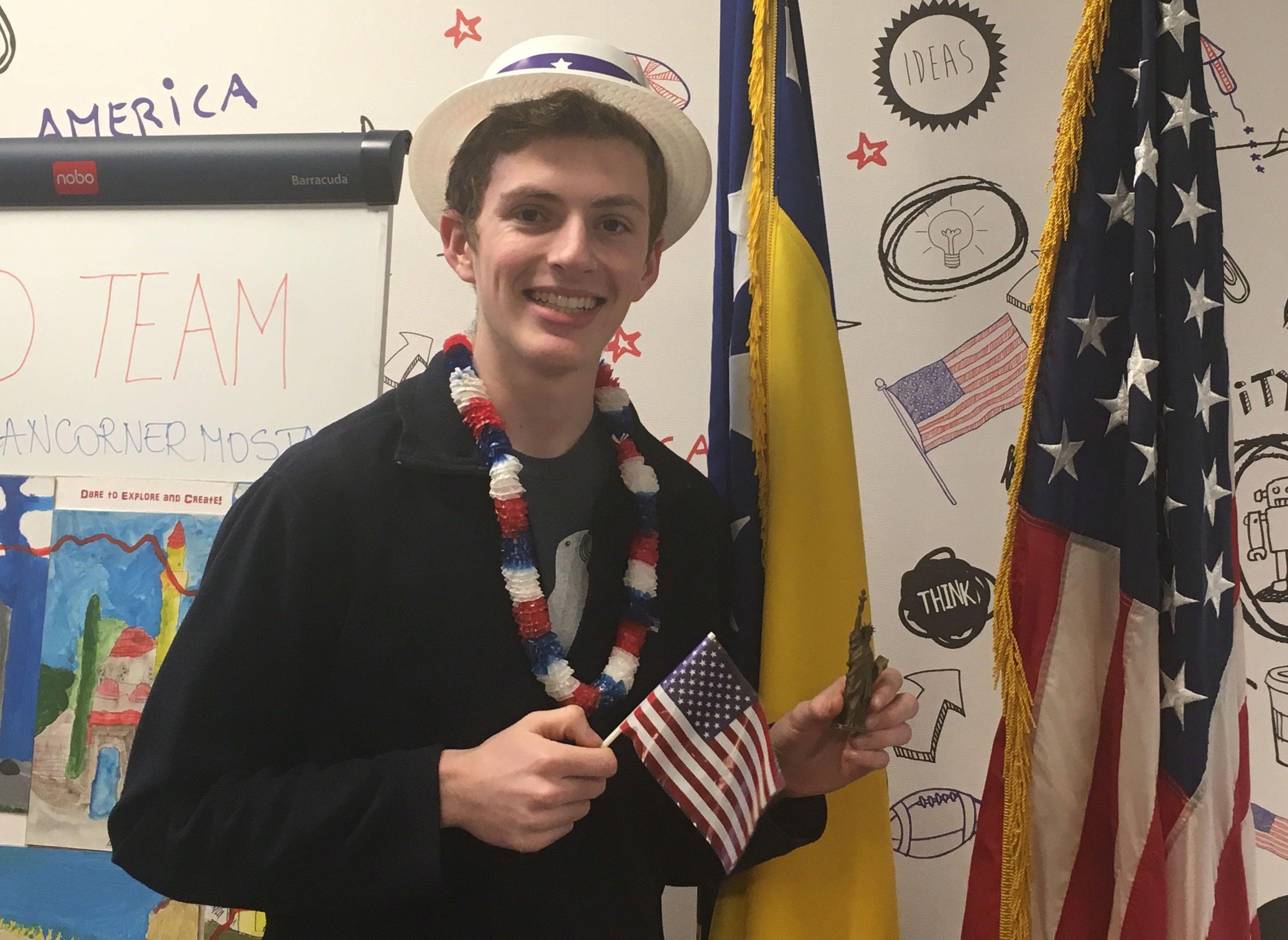Ben Representing America