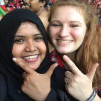 Soccer Match in Indonesia