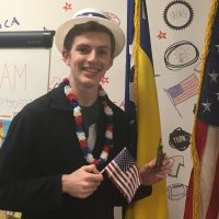 March American Abroad Student of the Month: Benjamin Blum