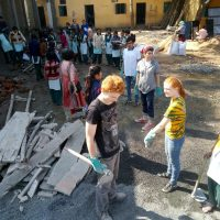 Lending a Hand in India