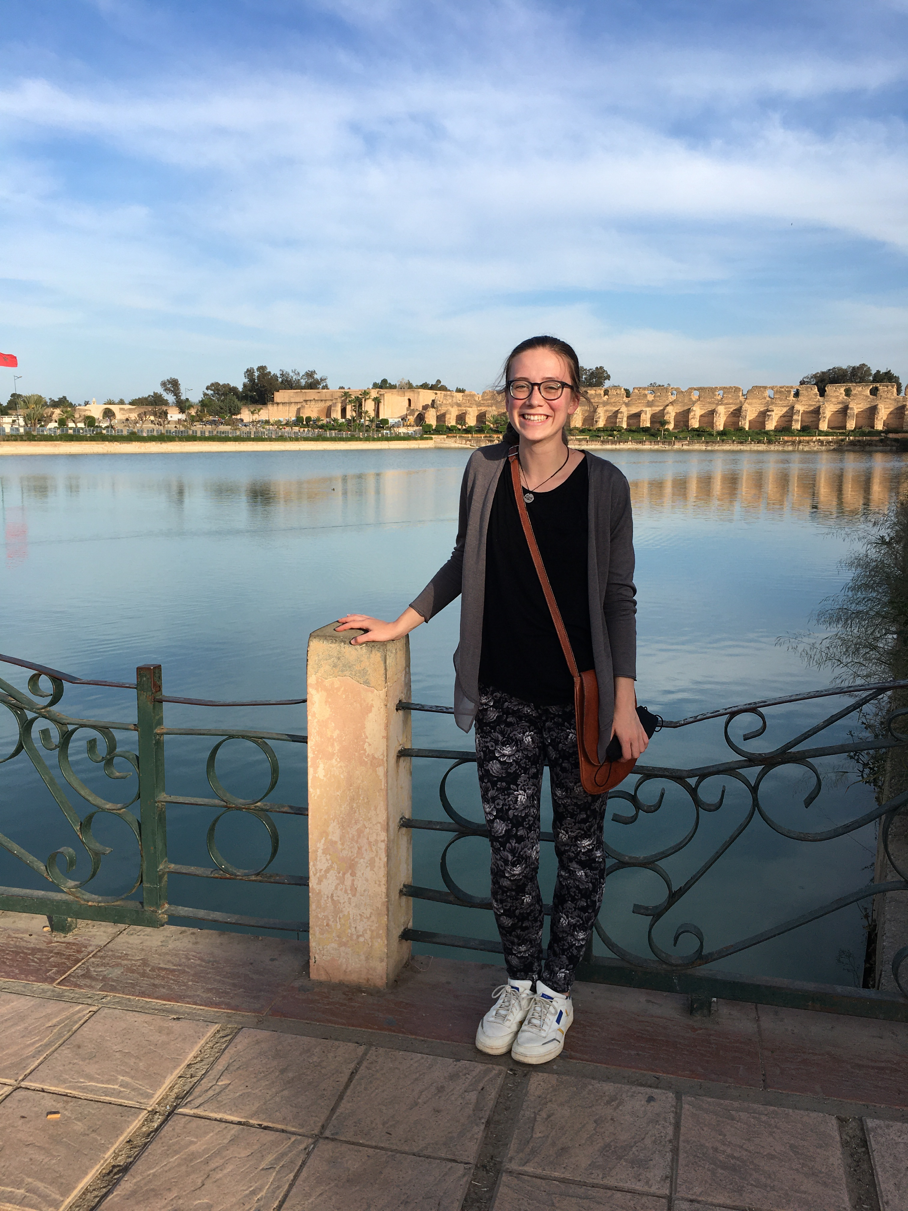 Catherine Cartier Fulbright In Morocco
