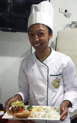 Durowaa Cooking At School Aasom