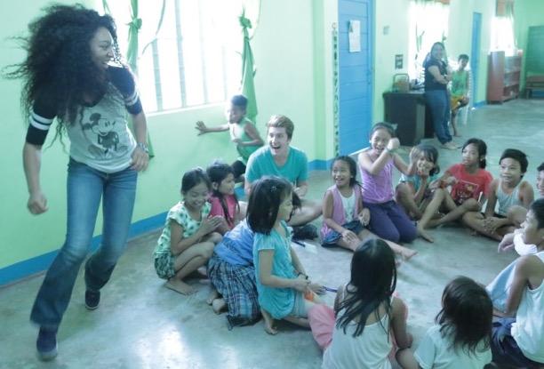 Durowaa Volunteering Running Aasom