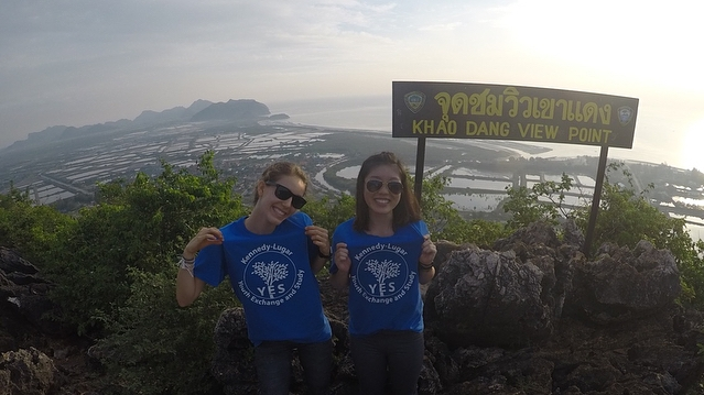Mattison Iew Photo With Yes Abroad Shirts
