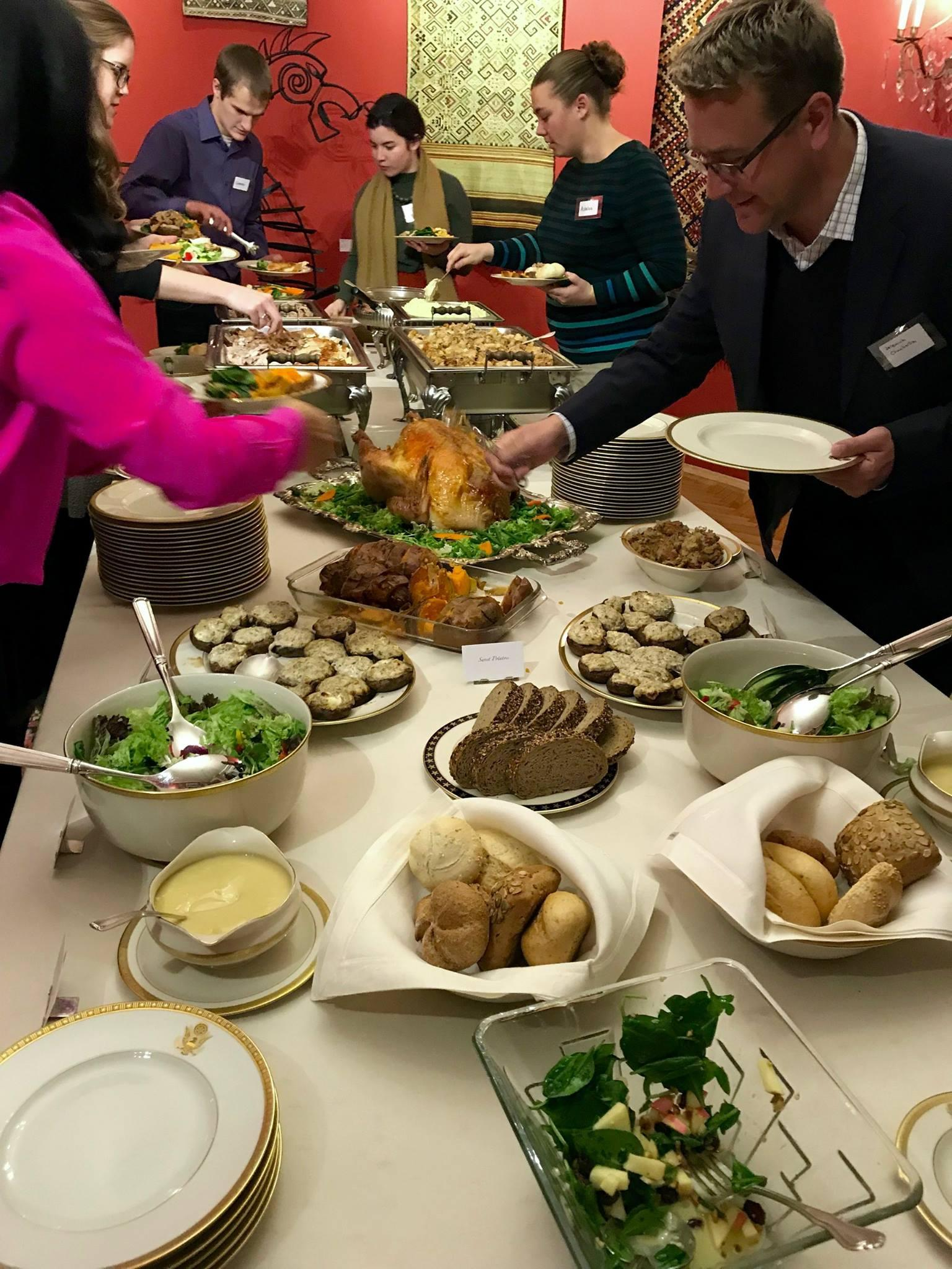 Thanksgiving At The Ambassadors Residence