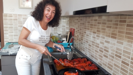 Zdenka With Stuffed Peppers