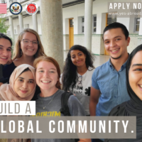 APPLY NOW! YES Abroad 2022-2023