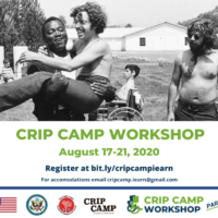 Crip Camp Workshop - Registration Open