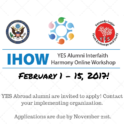 Ihow Call For Applications Yes Abroad