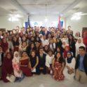 Students At Reception