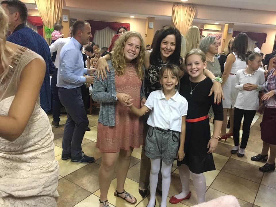 Tana With Hf At A Family Wedding